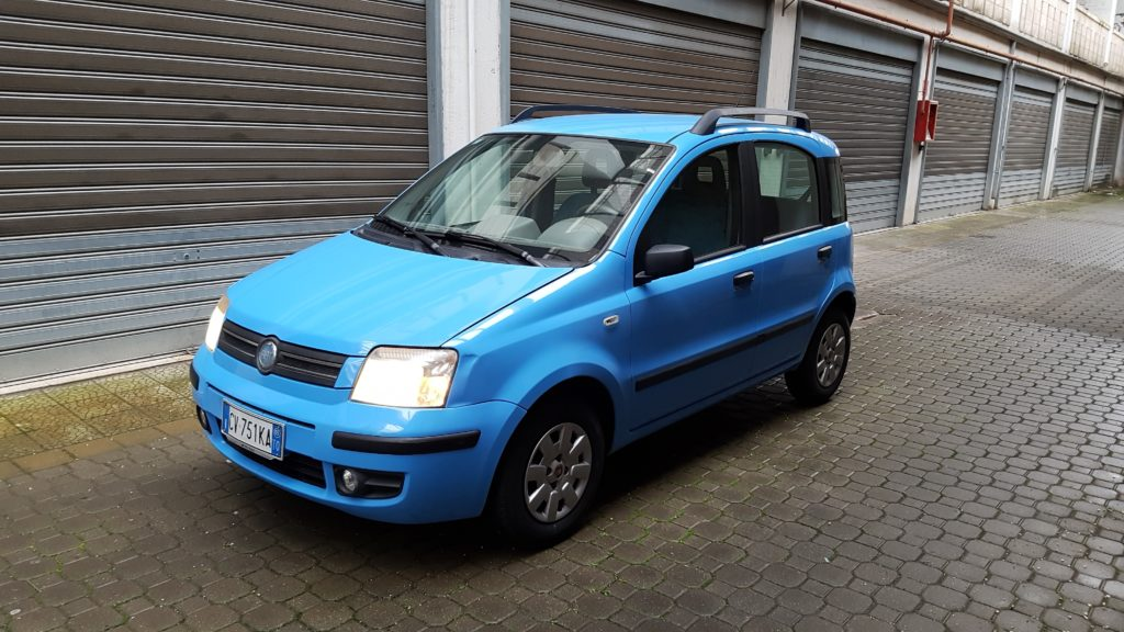 fiat panda light blue white city srls noleggio auto a ostuni